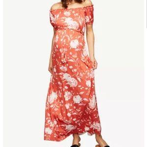 Rachel Pally Maternity on/off shoulder dress Sz Md